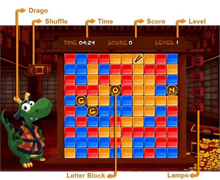 Dragon Click              Game board