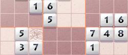 Sudoku          Blocked field