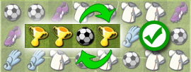 Soccer Match                          Swap tiles