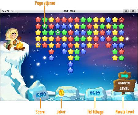 Spil Polar Stars online hos GameDuell. Rejs til Nordpolen og gør stjernebilleder synlige. Spil Polar Stars online hos GameDuell: Bevis at du kan holde hovedet koldt og tænke strategisk.