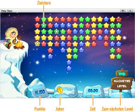 Polar Stars online bei GameDuell spielen. Reisen Sie zum Nordpol und legen Sie die Sternbilder frei. Spielen Sie Polar Stars kostenlos online bei GameDuell und beweisen Sie eiskalt Ihre Klickstrategie.