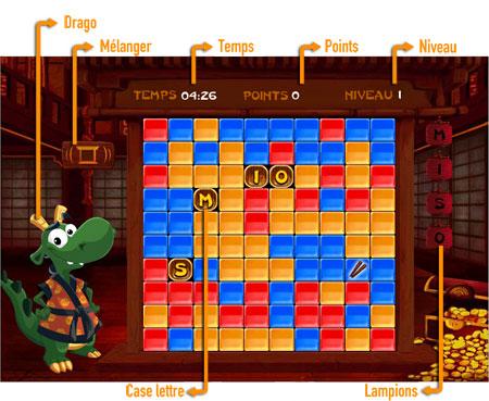 Dragon Clic              Plateau de jeu