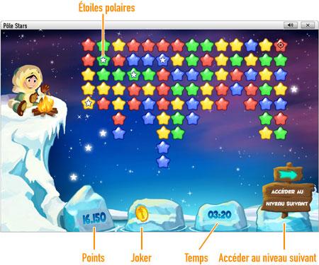 Joue à Pôle Stars en ligne sur GameDuell. Départ pour le Pôle Nord à la découverte des constellations. Joue à Pôle Stars gratuitement sur GameDuell - montre-toi astucieux !