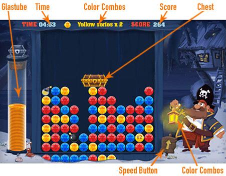 Captain Click              Game board