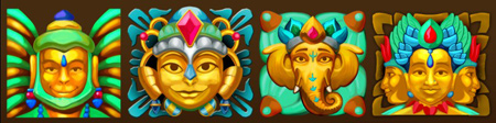 Jungle Jewels                  Masks