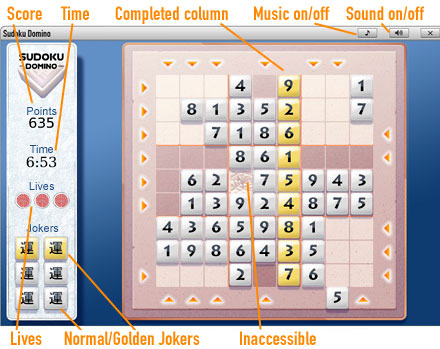 Sudoku              Game borad