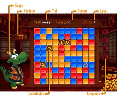Dragon Click              Speelveld