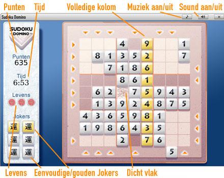 Sudoku              Speelveld